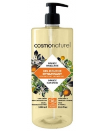 Cosmo Naturel Bain douche Fruité Orange Mandarine 1 Litre, bain douche bio, pharma5avenue