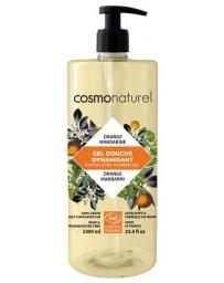 Cosmo Naturel Bain douche Fruité Orange Mandarine 1 Litre