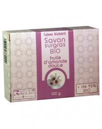 Cosmo Naturel Savon surgras à l'huile d'amande douce bio 100 gr, savon bio, pharma5avenue