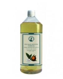 L'Artisan Savonnier Gel bain douche familial Mandarine Orange 1 L, gel douche bio