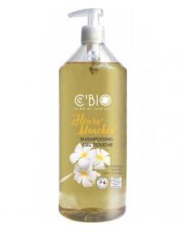 C'BIO Shampooing douche Fleurs Blanches 1 L, shampoing bio, pharma5avenue