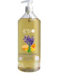 C'BIO Shampooing douche Orange Lavande 1 L