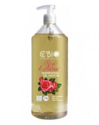 C'BIO Shampooing douche Rose d'Antan 1 L, shampoing bio, pharma5avenue