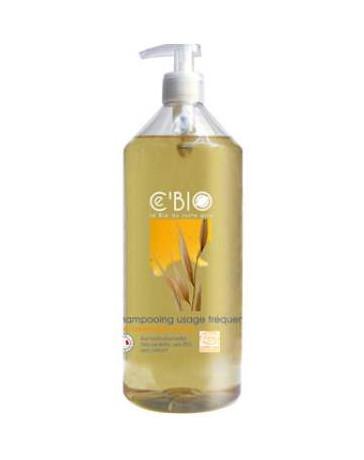 C'BIO Shampooing usage fréquent Miel Calendula Avoine 1 L, shampooing bio, pharma5avenue