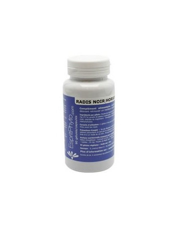 EspritPhyto - Radis Noir - 90 gélules