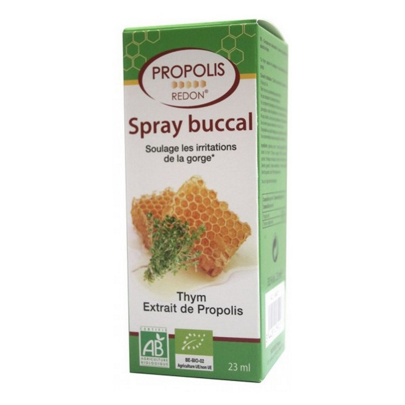 Redon Spray buccal apaisant à la Propolis 23 ml, propolis spray, pharma5avenue