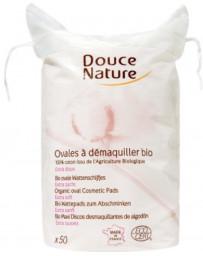 Douce Nature 50 Ovales à démaquiller coton bio 50 gr