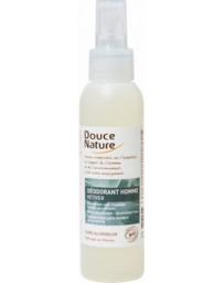 Douce nature Spray Déodorant Homme Vétiver Bio 125 ml