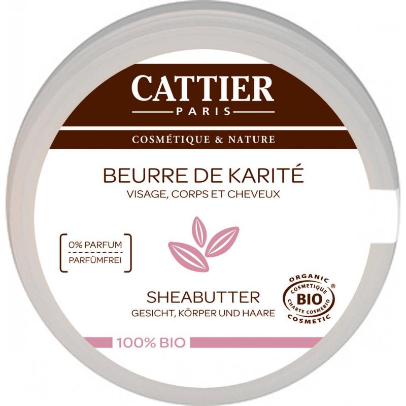 Cattier Beurre de karité - 100 g - beurre nourrissant et restructurant pharma5avenue