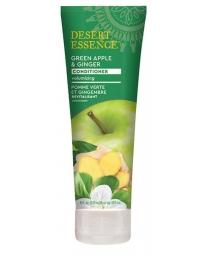 Desert Essence Après shampoing revitalisant pomme gingembre 237 ml, après shampooing bio