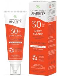 Spray Solaire SPF30 Huile de Coco et Alga Gorria 125 ml Laboratoires de Biarritz - produit de soin