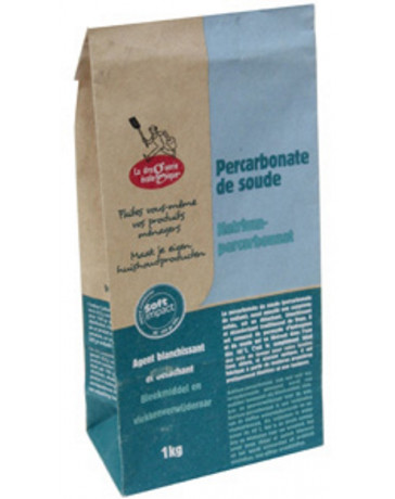 Percarbonate de soude 1kg Droguerie Ecologique - produit de nettoyage ménager - eau oxygénée