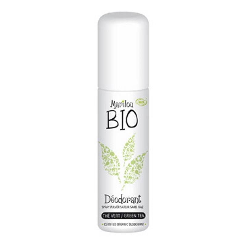 Déodorant spray Thé vert 75ml Marilou Bio - déodorant bio pharma5avenue