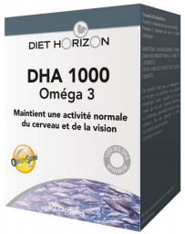 Diet Horizon DHA 1000 Oméga 3 - 60 capsules pharma5avenue