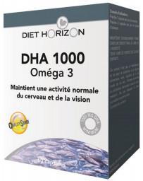 Diet Horizon DHA 1000 Oméga 3 - 60 capsules