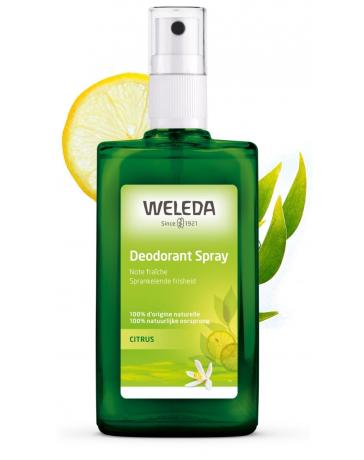 Weleda Déodorant spray Citrus 100 ml, deodorant bio, pharma5avenue