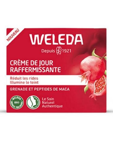 Weleda Crème de jour raffermissante à la Grenade 30 ml, crème peaux dévitalisées, pharma5avenue