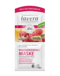 Lavera Masque anti rides Cranberry bio Huile d'Argan bio 2x5 ml