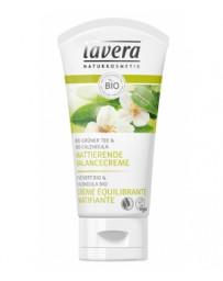 Lavera Crème équilibrante matifiante Thé vert bio 50 ml