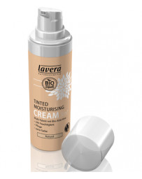 Lavera Crème hydratante teintée 3 en 1 Naturel 30ml, maquillage bio du teint