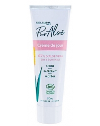 Puraloe Crème hydratante Aloe Vera 50 ml aloe vera natif à 67% pharma5avenue