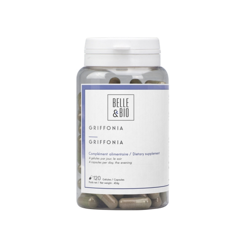 Belle et bio Griffonia simplicifolia naturel 120 gélules Pharma5avenue
