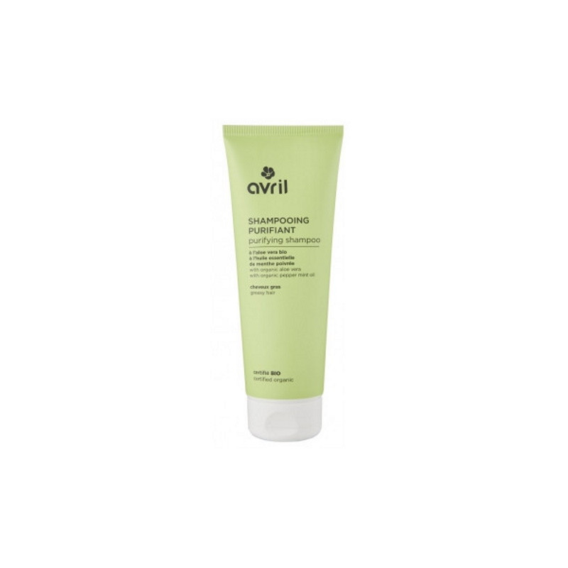 Avril Beauté Shampooing Purifiant cheveux gras 250 ml huiles essentielles Pharma5avenue