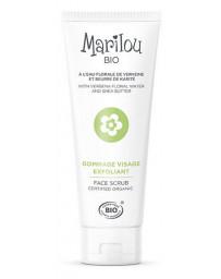 Marilou Bio Gommage visage exfoliant Verveine Sésame et Beurre de Karité 75ml