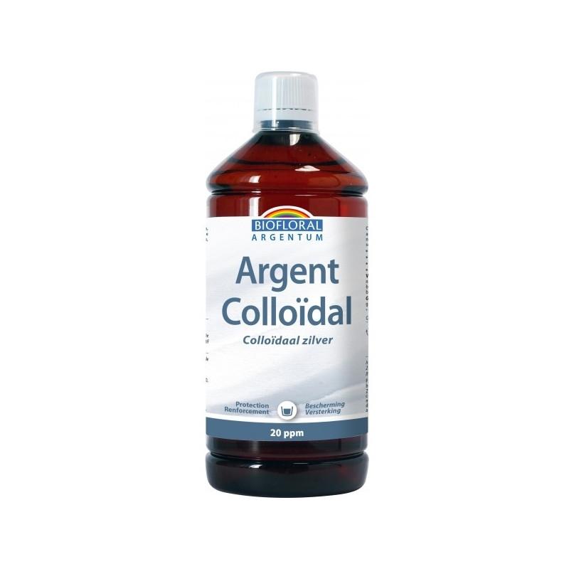 Biofloral Argent Colloïdal Naturel 20 PPM 1L argentum Pharma5avenue