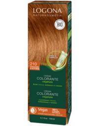 Logona Crème colorante 210 Couleurs d'Automne cheveux chatains 150 ml