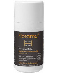 Florame Déodorant bille roll on homme 50 ml