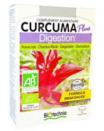 Biotechnie Curcuma Plus Digestion Bio 60 comprimés desmodium chardon marie Pharma5avenue