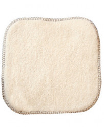 Lulu Nature La débarbouillette 100% coton biologique 20X20cm lingette lavable Pharma5avenue
