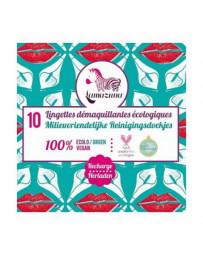 Lamazuna Recharge de 10 lingettes démaquillantes à l'eau réutilisables Pharma5avenue