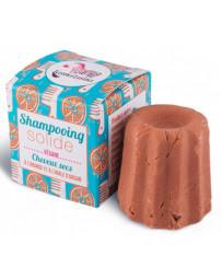 Lamazuna Shampooing solide naturel Cheveux secs Orange 55 gr