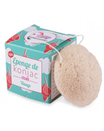 Lamazuna Eponge de Konjac 30 gr nettoyage peau sensible Pharma5avenue