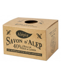 Alepia Savon d'Alep 40% Laurier 190 gr traditionnel peaux sensibles Pharma5avenue