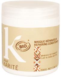 K pour Karité Masque réparateur Argile et Karité 200 gr