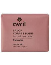 Avril Beauté bio Savon de Provence Corps et Mains Framboise 100 gr Pharma5avenue