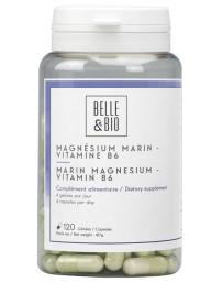 Belle et Bio Magnésium Marin Vitamine B6 120 gélules calme plénitude Pharma5avenue