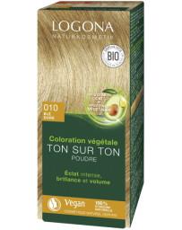 Logona Coloration Végétale Ton sur Ton 010 Blé doré 100gr soin colorant Pharma5avenue