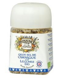 Provence d'Antan Gros sel de Camargue aux légumes bio Recharge 90g