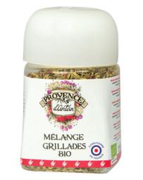 Provence d'Antan Mélange Grillade bio pot végétal biodégradable 30 gr