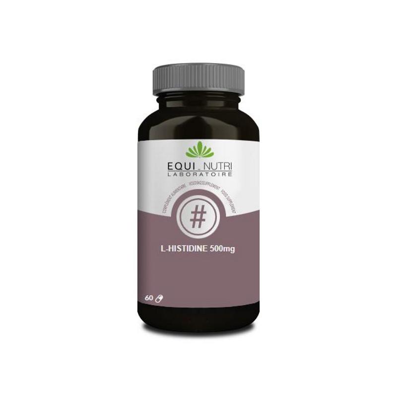 Equi Nutri L-Histidine 500mg 60 gélules acide aminé Pharma5avenue