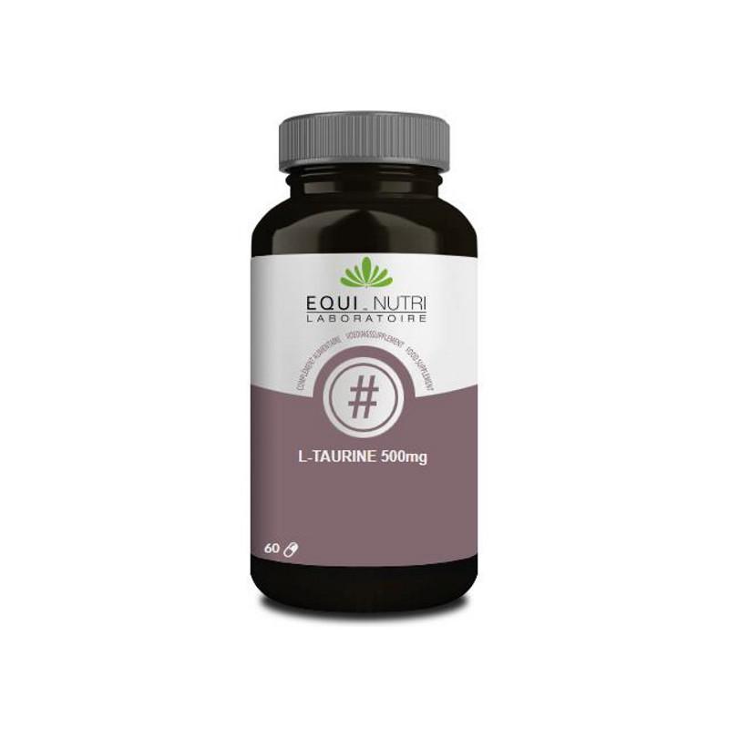 Equi Nutri L-Taurine 60 gélules végétales 500mg Pharma5avenue