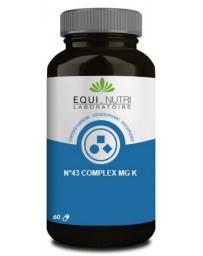 Equi Nutri No 43 complex Mg K 60 gélules végétales potassium magnésium Pharma5avenue