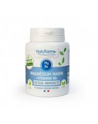 Nat et Form Magnésium marin Vitamine B6 40 gélules stress nervosité Pharma5avenue
