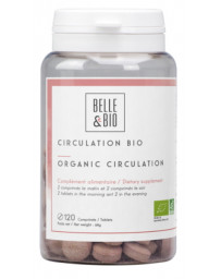 Belle et bio Circulation 120 comprimés bio Antioxydants Pharma5avenue