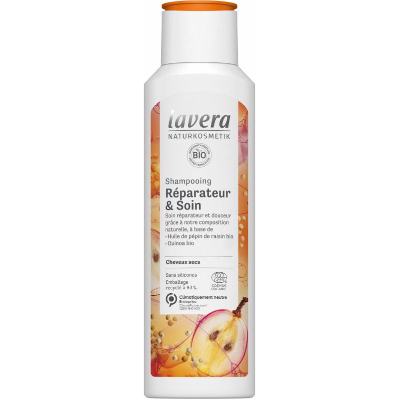 Lavera Shampooing réparateur et soin 250ml - cosmétique biologique