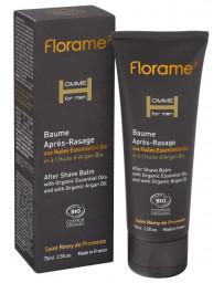 Florame Baume Après Rasage bio 75 ml hydratant senteurs masculines Pharma5avenue